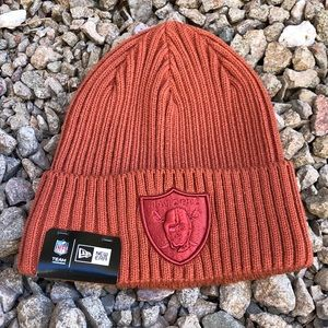 Raiders Rose Gold Beanie/Skully